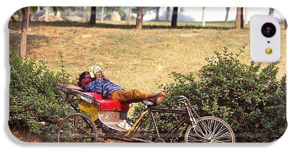 Rickshaw Rider Relaxing IPhone 5c Case