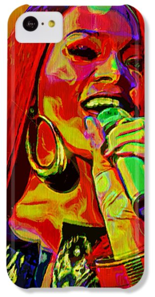 Rihanna 2 IPhone 5c Case by  Fli Art