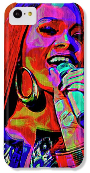 Rihanna  IPhone 5c Case by  Fli Art