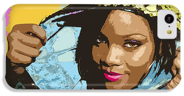 Rihanna IPhone 5c Case by John Keaton