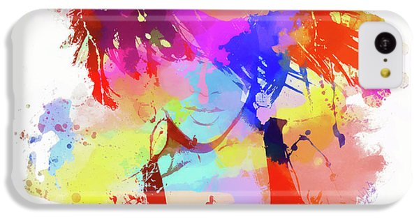 Rihanna Paint Splatter IPhone 5c Case by Dan Sproul