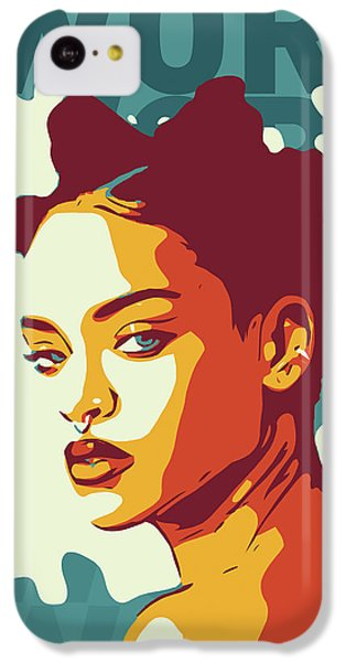 Rihanna IPhone 5c Case by Greatom London