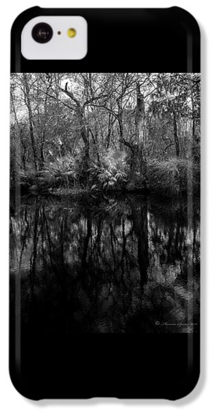 River Bank Palmetto IPhone 5c Case by Marvin Spates