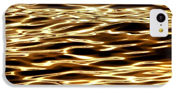 Surrealism iPhone 5c Case - River Of Gold by Az Jackson