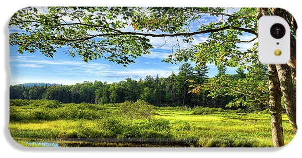 IPhone 5c Case featuring the photograph River Under The Maple Tree by David Patterson