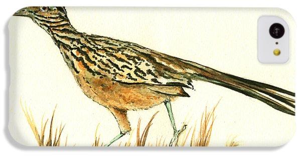 Roadrunner Bird IPhone 5c Case by Juan Bosco