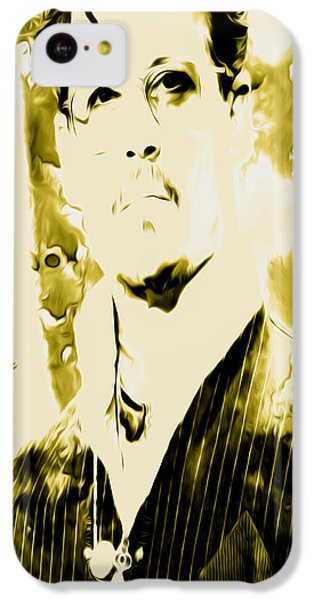 Scarlett Johansson iPhone 5c Case - Robert Downey by Brian Reaves