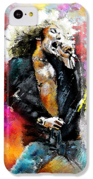Robert Plant 03 IPhone 5c Case by Miki De Goodaboom