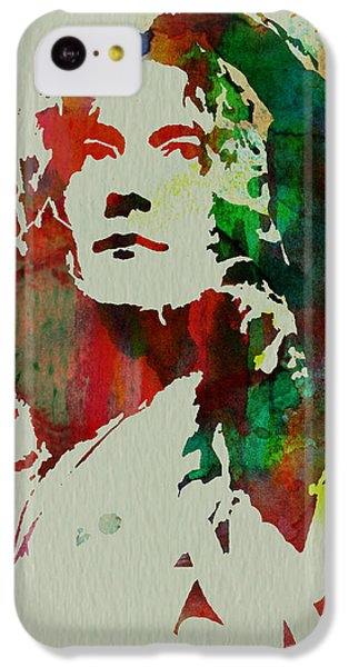Robert Plant IPhone 5c Case by Naxart Studio