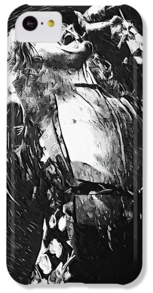 Robert Plant IPhone 5c Case by Taylan Apukovska