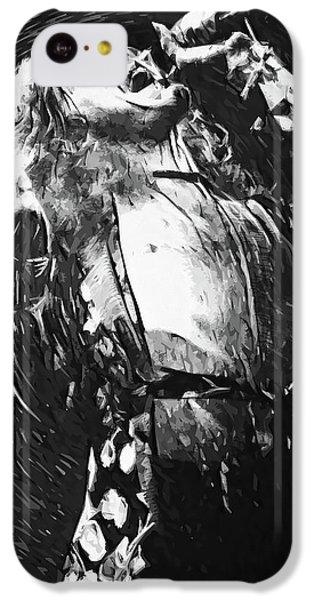 Robert Plant iPhone 5c Case - Robert Plant by Taylan Apukovska