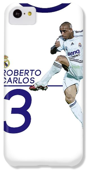 Roberto Carlos IPhone 5c Case by Semih Yurdabak