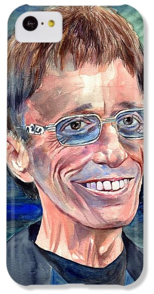 Robin iPhone 5c Case - Robin Gibb Bee Gees by Suzann's Art