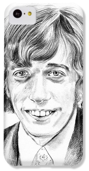 Robin iPhone 5c Case - Robin Gibb Drawing by Suzann's Art