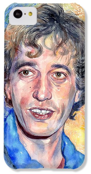 Robin iPhone 5c Case - Robin Gibb Portrait by Suzann's Art