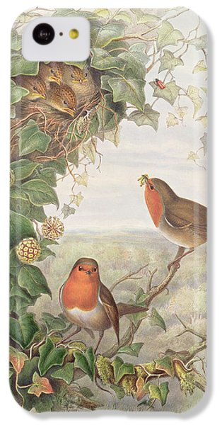 Robin IPhone 5c Case by John Gould