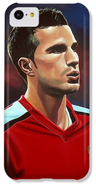 Robin iPhone 5c Case - Robin Van Persie by Paul Meijering