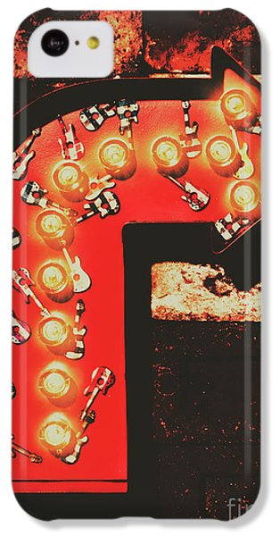 IPhone 5c Case featuring the photograph Rock Through This Way by Jorgo Photography - Wall Art Gallery