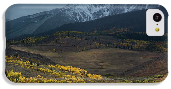 IPhone 5c Case featuring the photograph Rocky Mountain Horses by Aaron Spong