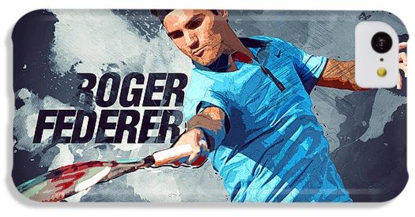 Roger Federer IPhone 5c Case