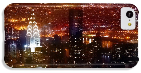 Romantic Skyline IPhone 5c Case by Az Jackson