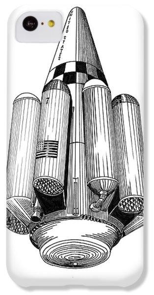 Rombus Heavey Lift Reusable Rocket IPhone 5c Case