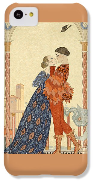 Valentines Day iPhone 5c Case - Romeo And Juliette by Georges Barbier
