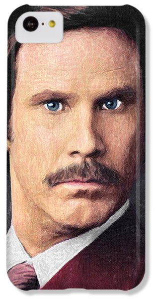 Elf iPhone 5c Case - Ron Burgundy by Taylan Apukovska