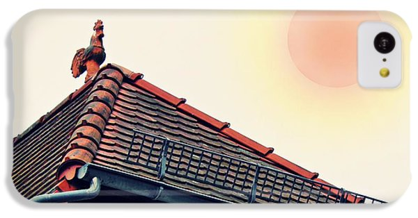 Rooster On The Roof IPhone 5c Case