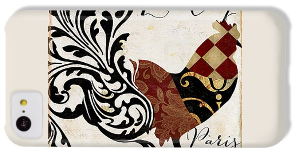 Roosters Of Paris II IPhone 5c Case by Mindy Sommers