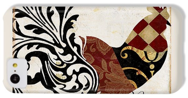 Rooster iPhone 5c Case - Roosters Of Paris II by Mindy Sommers
