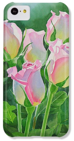 Rose iPhone 5c Case - Rose Array by Sharon Freeman