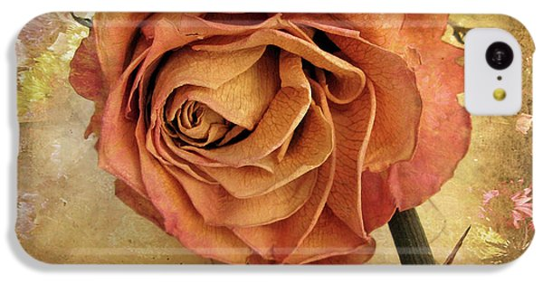 Rose iPhone 5c Case - Rose  by Jessica Jenney
