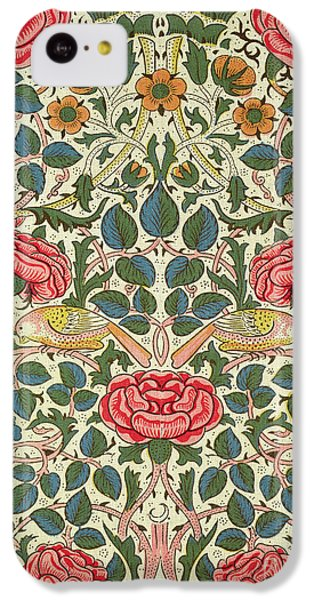 Rose IPhone 5c Case by William Morris