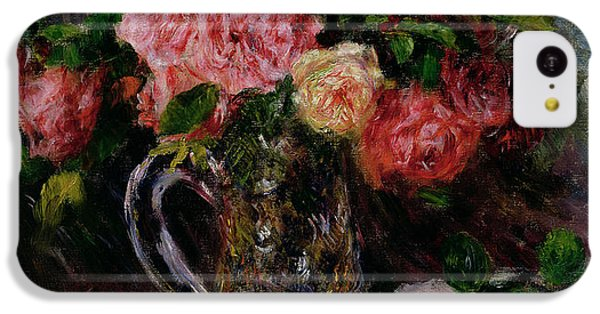 Roses IPhone 5c Case by Pierre Auguste Renoir