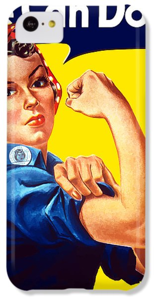 The iPhone 5c Case - Rosie The Rivetor by War Is Hell Store