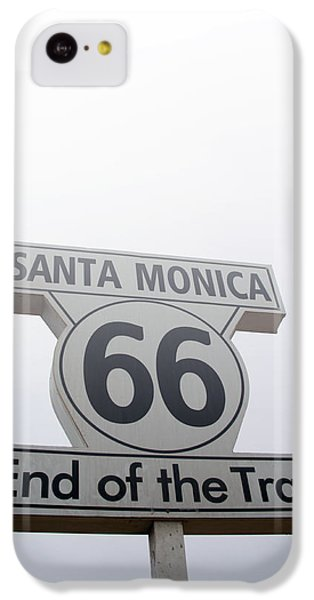 Route 66 Santa Monica- By Linda Woods IPhone 5c Case