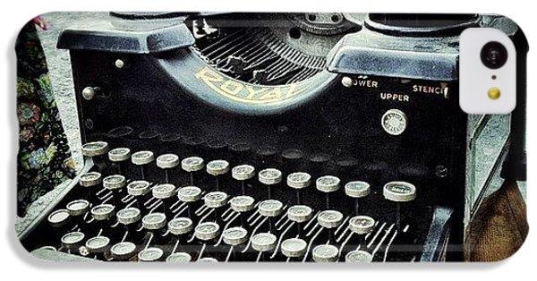 Gmy iPhone 5c Case - Royal Typewriter by Natasha Marco