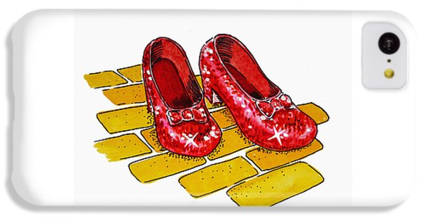 Ruby Slippers The Wizard Of Oz  IPhone 5c Case by Irina Sztukowski
