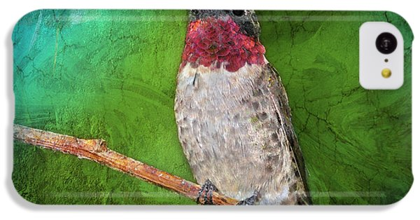 Ruby Throated Hummingbird IPhone 5c Case