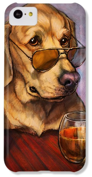 Beer iPhone 5c Case - Ruff Whiskey by Sean ODaniels