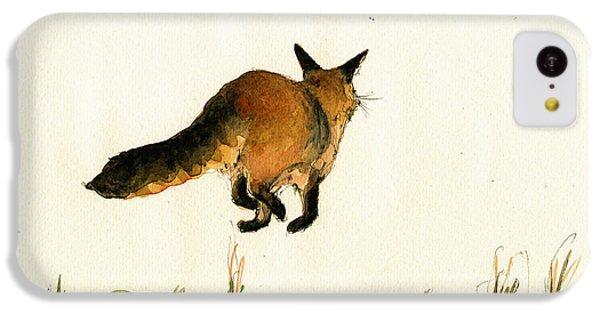 Running Fox Painting IPhone 5c Case