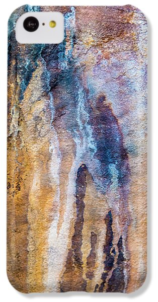 IPhone 5c Case featuring the photograph Runoff Abstract, Bhimbetka, 2016 by Hitendra SINKAR