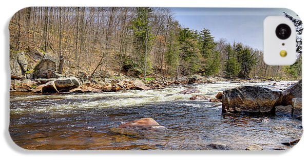 IPhone 5c Case featuring the photograph Rushing Waters Of The Moose River by David Patterson