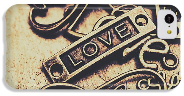 Rustic Love Icons IPhone 5c Case by Jorgo Photography - Wall Art Gallery