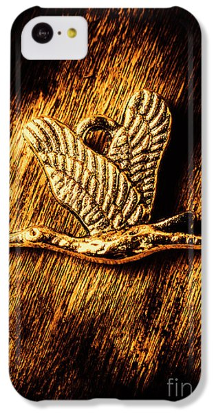 Stork iPhone 5c Case - Rustic Stork Pendant by Jorgo Photography - Wall Art Gallery