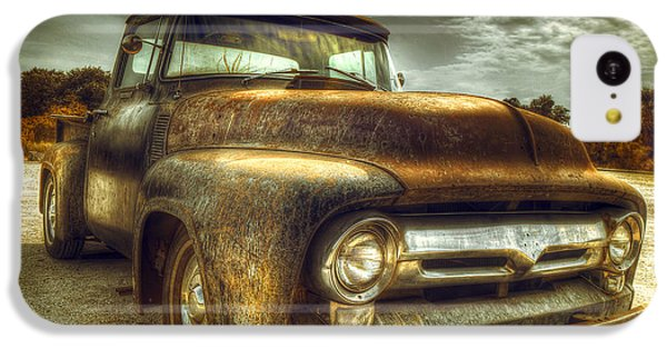 Truck iPhone 5c Case - Rusty Truck by Mal Bray