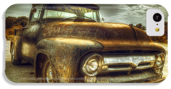Rusty Truck IPhone 5c Case by Mal Bray