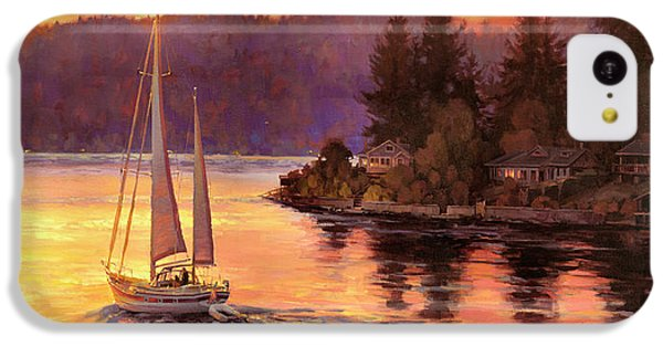 Seattle iPhone 5c Case - Sailing On The Sound by Steve Henderson