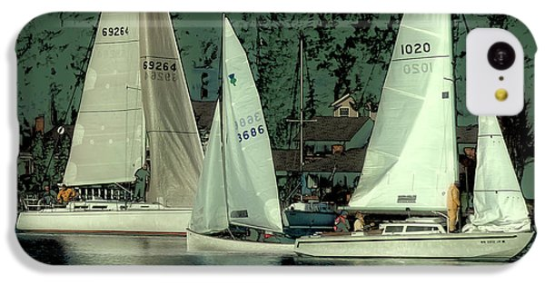IPhone 5c Case featuring the photograph Sailing Reflections by David Patterson